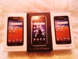 Galaxy Plaer 70 と Galaxy Plaer (YP-GB70)