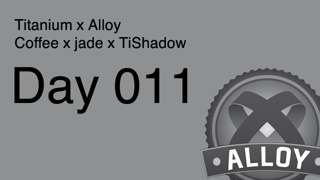 Alloy DAY 010: TabGroup のカスタム