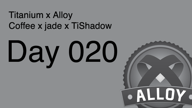 Alloy DAY 013: Grid Layout