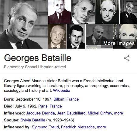 ジョルジュ・バタイユ